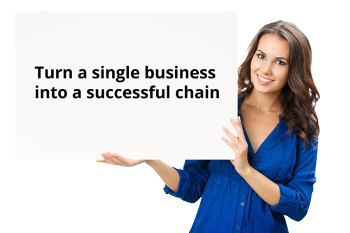 Turn a single business into a successful chain
